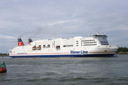 Stena Britannica ferry Hook of Holland Harwich