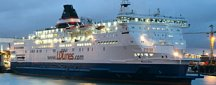 Stena Line ferry route rosslare le havre