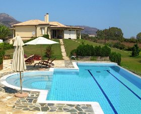 self-catering holiday home in Greece