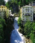 Badgastein waterfall