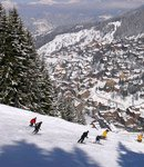 Brides-les-Bains, slopes above the village