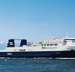 p&o ferry European Endeavour