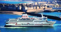 Brittany ferries Ferry pont aven plymouth santander