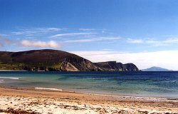 Beach on Achill Island