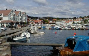 lillesand harbour