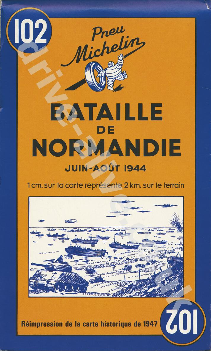 30% off Normandy Battle Historic Map