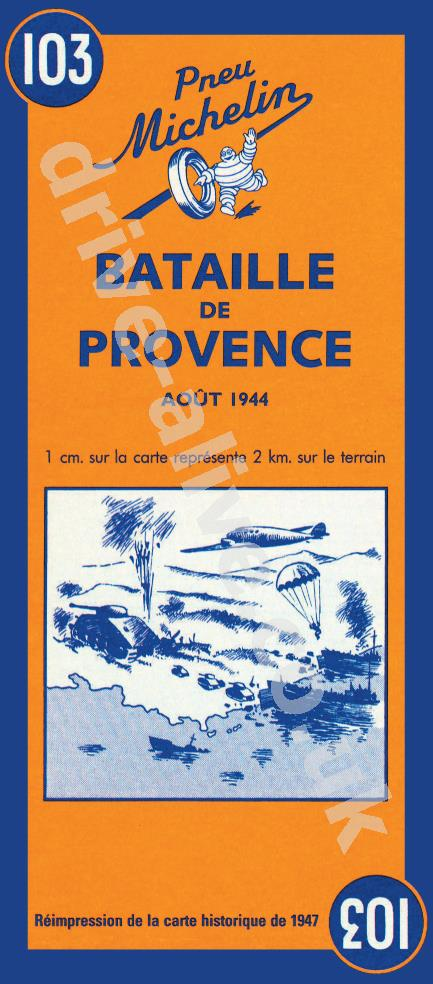 30% off Provence Battle Historic Map